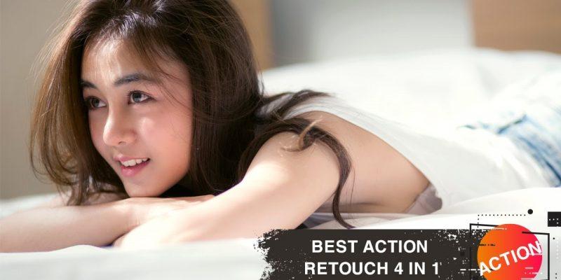 Action Retouch Photoshop