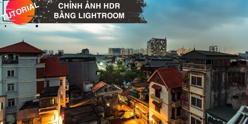 Blend ảnh HDR