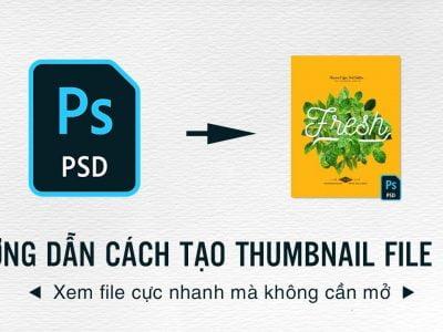 Tạo thumbnail file photoshop