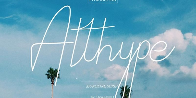 Typeface Althype