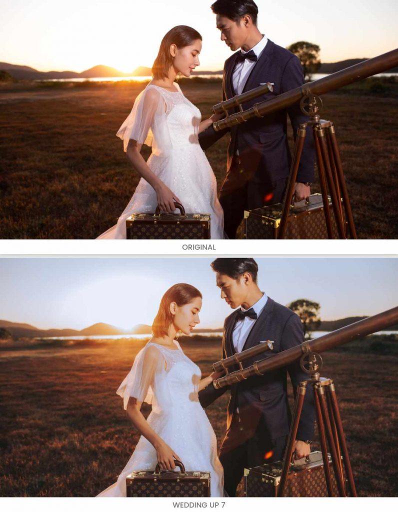preset ảnh cưới