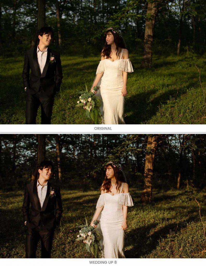 màu ảnh cưới đẹp