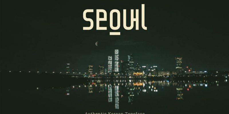 Seoul Korean Typeface
