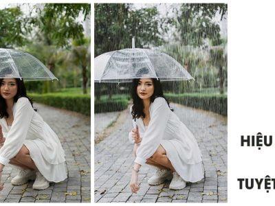 Rain overlay