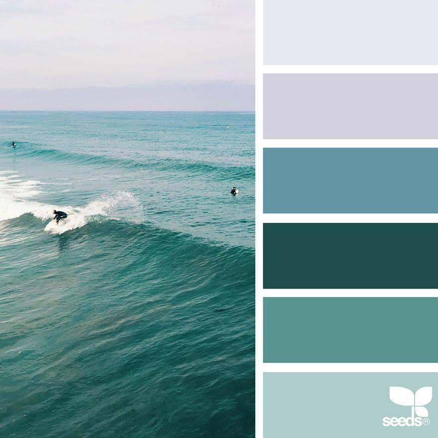 Color Palette Cyan