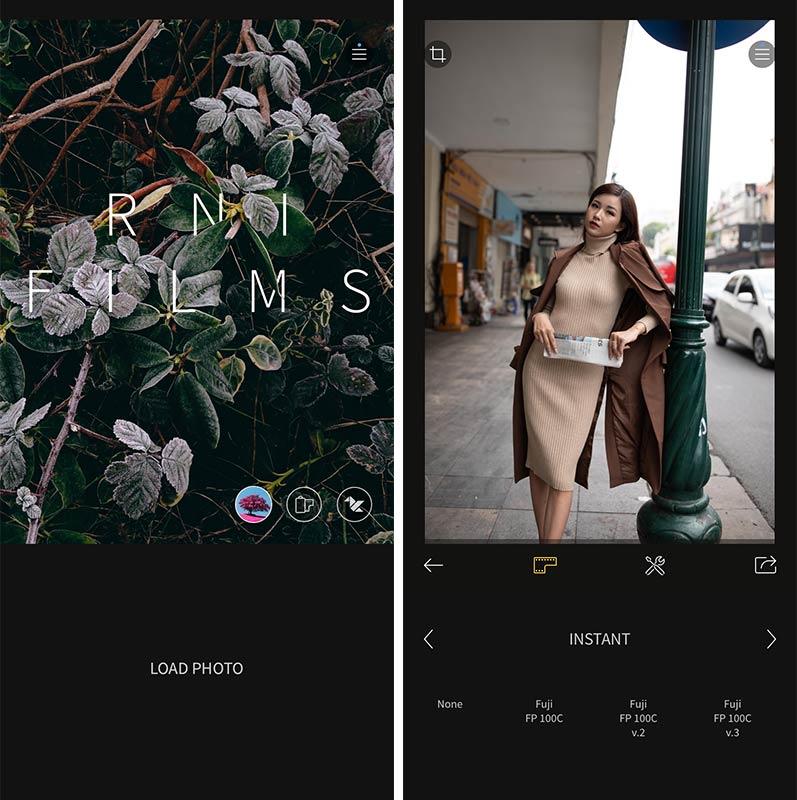 App màu film