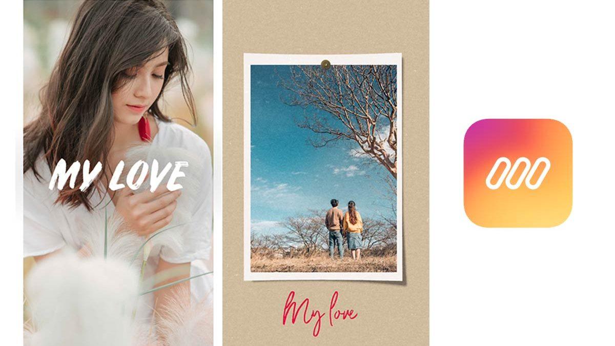app tạo story đẹp
