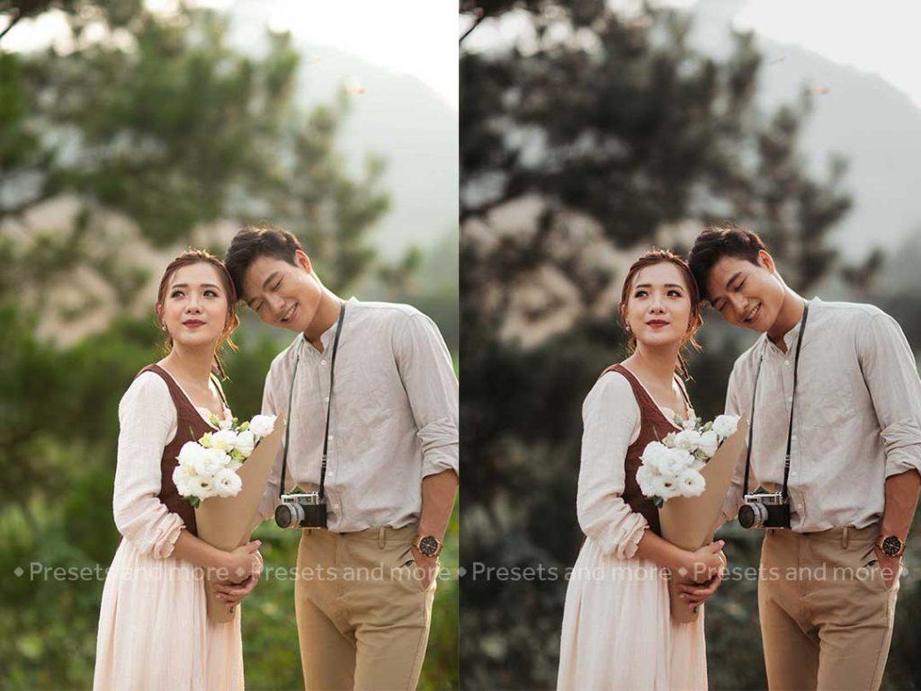preset ảnh cưới đẹp