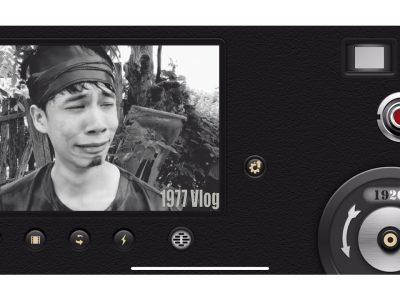 app quay video 1977 vlog